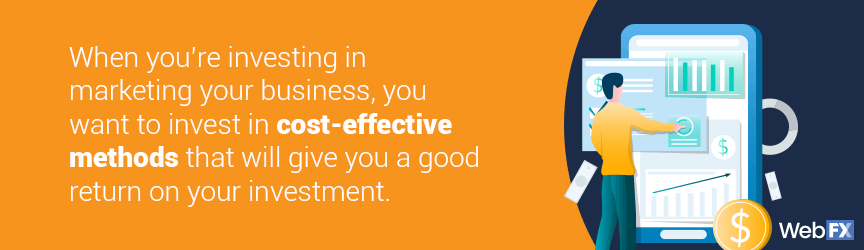When you're investing in marketing your business, you want cost-effective solutions