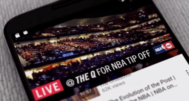 Ejemplo de anuncio programático de Turner Sports