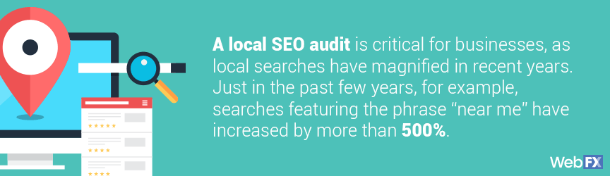 Why SEO consulting services should include local SEO audit