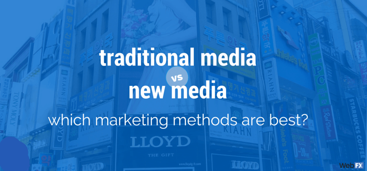 new media vs traditional media essay Explore the strategic and tactical implications of using social media versus traditional a new set of tactics traditional media relied papers, as well all.