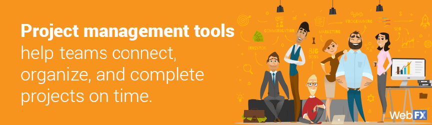The definition of project management tools