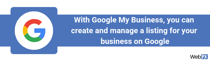 The definition of Google My Business
