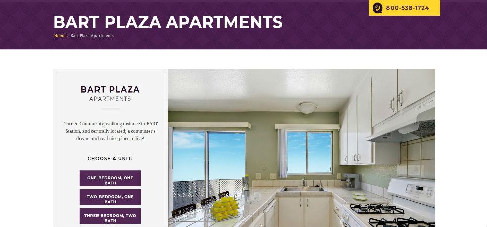 bart plaza apartments