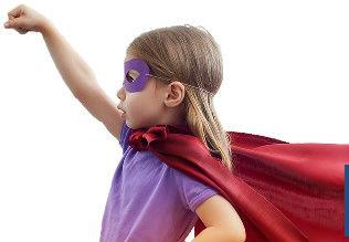 little girl superhero
