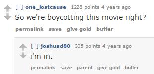 Woody Harrelson Reddit Comment 4