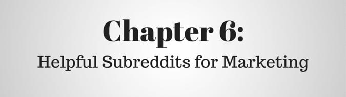 Helpful Subreddits for Marketing