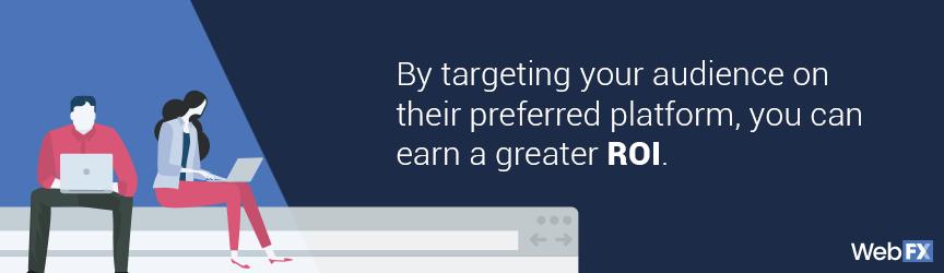 Pesquisar seu público pode melhorar seu retorno sobre o investimento (ROI) de gerenciamento de mídia social