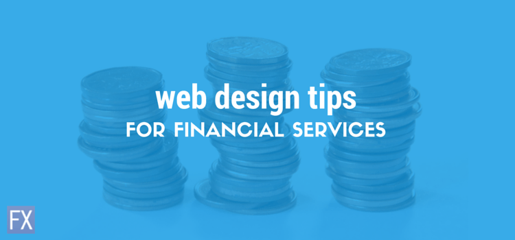 Web Design for the Financial Services Industry