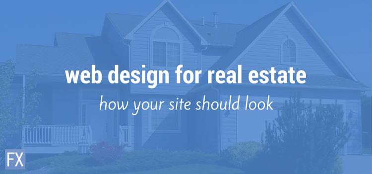 Web Design for Real Estate Agents